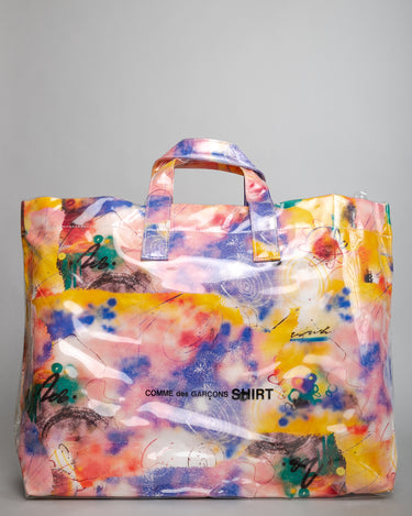 Futura Print PVC Bag Yellow 1