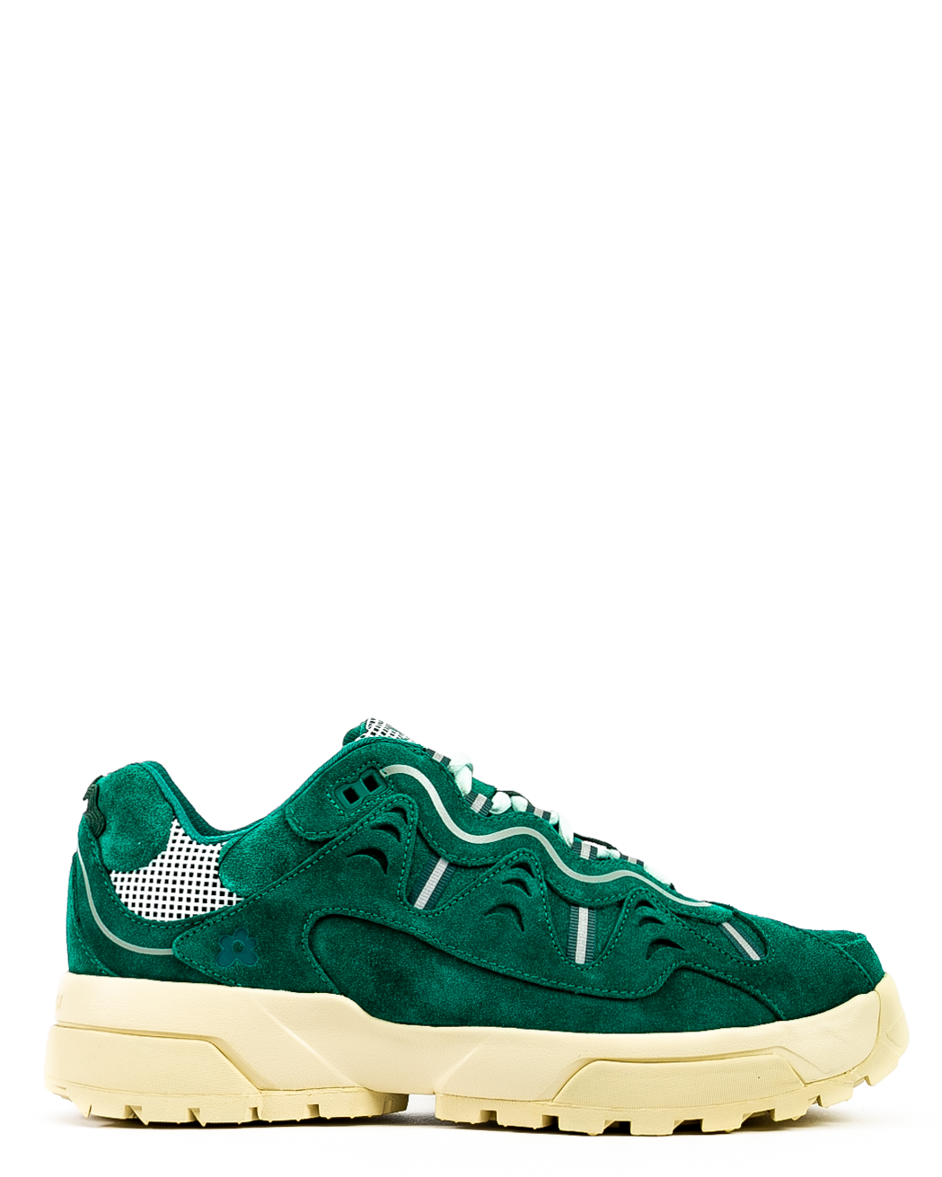 GOLF le FLEUR* Gianno Suede Evergreen/White Asparagus