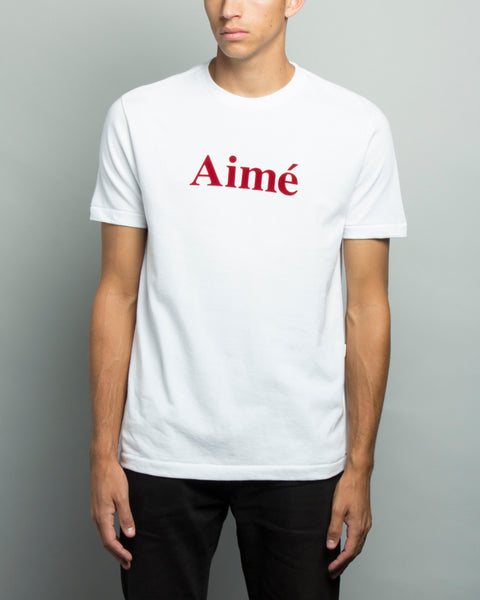 Aimé SS T-Shirt White Aimé Leon Dore Mens Sneakers Seattle
