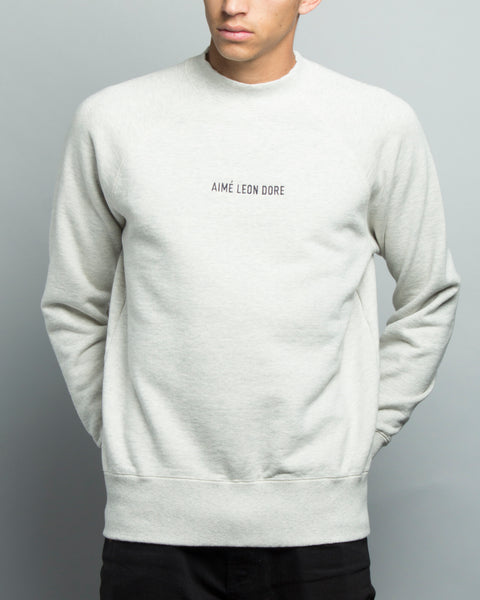 Crewneck Sweatshirt Eggshell Mix