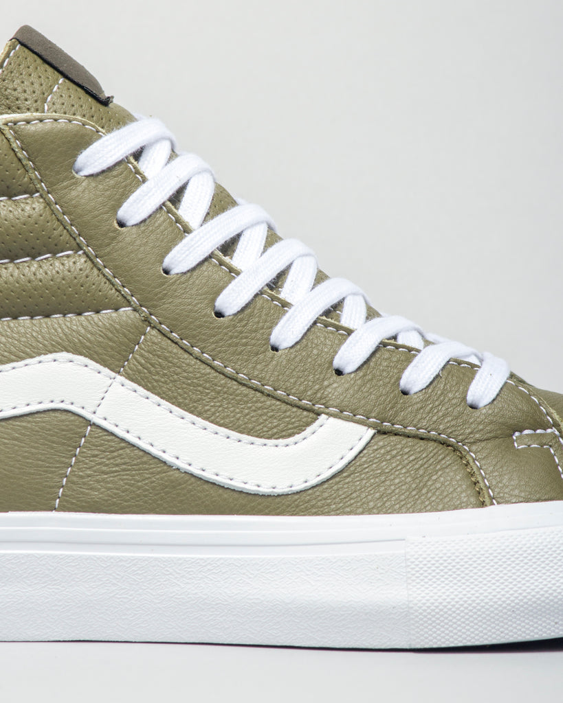 SK8-HI Reissue VLT LX Italian Leather Muschio