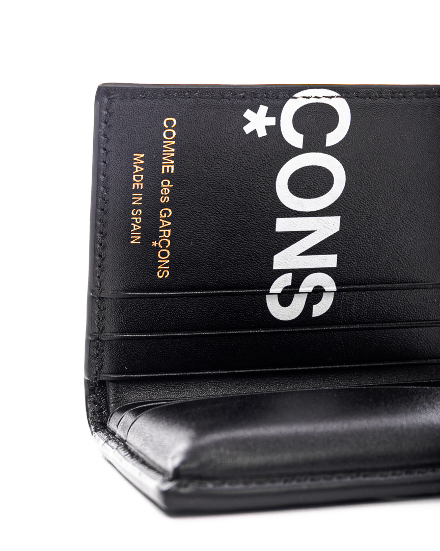 SA0641HL Huge Logo Wallet Black
