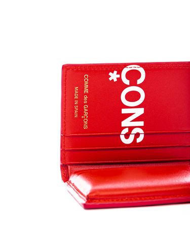 SA0641HL Huge Logo Wallet Red 2