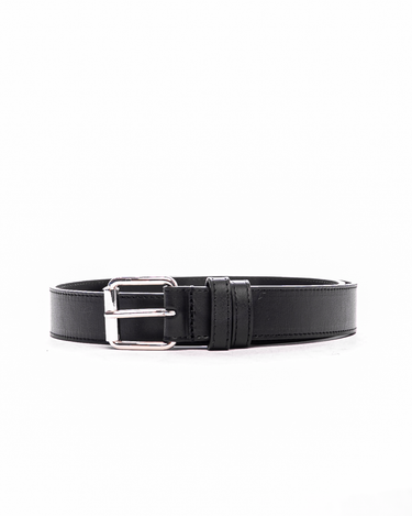 Classic Leather Line Belt Black 1