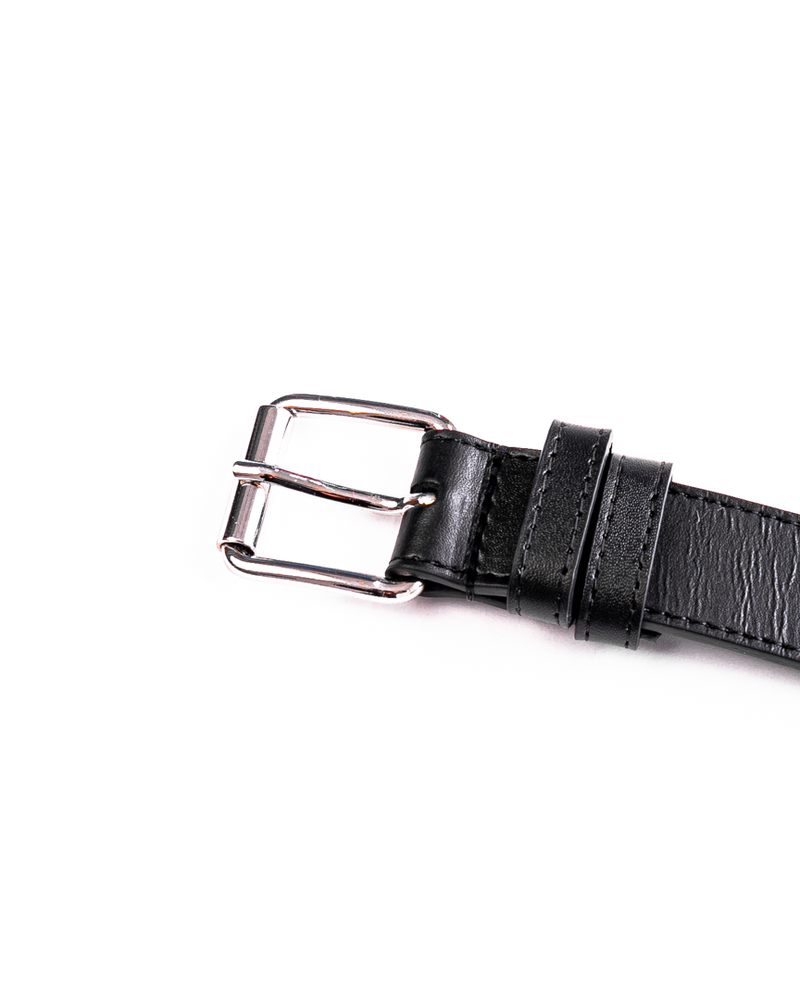 Classic Leather Line Belt Black