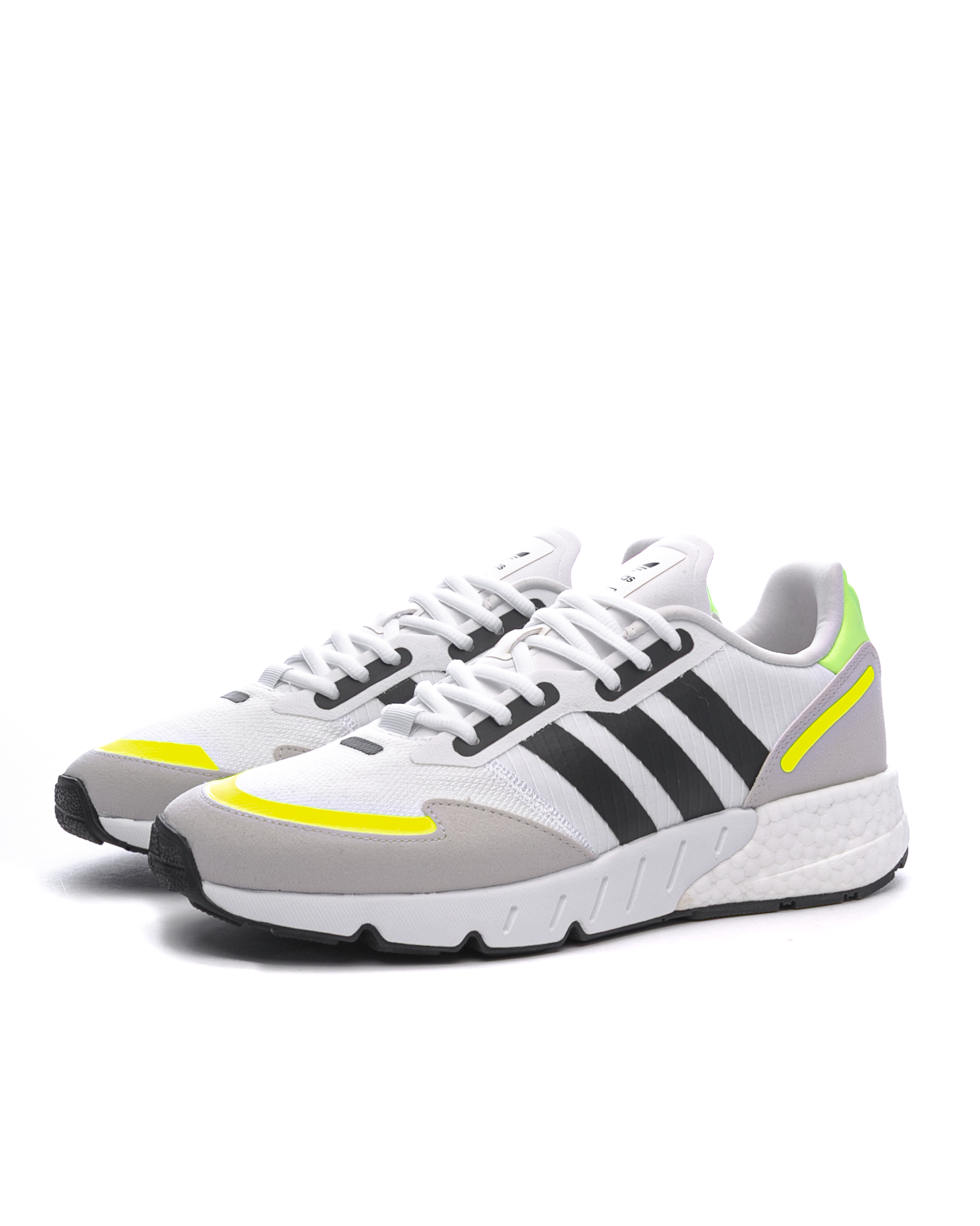 ZX 1K Boost Cloud White/Core Black/Solar Yellow