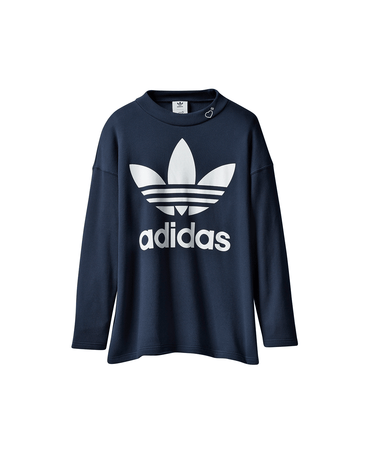 Human Made Graphic Sweatshirt Collegiate Navy 1