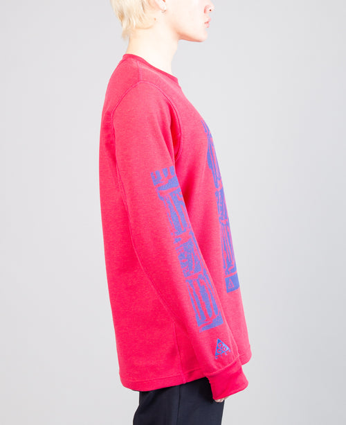 ACG LS Waffle Top Rush Pink 2