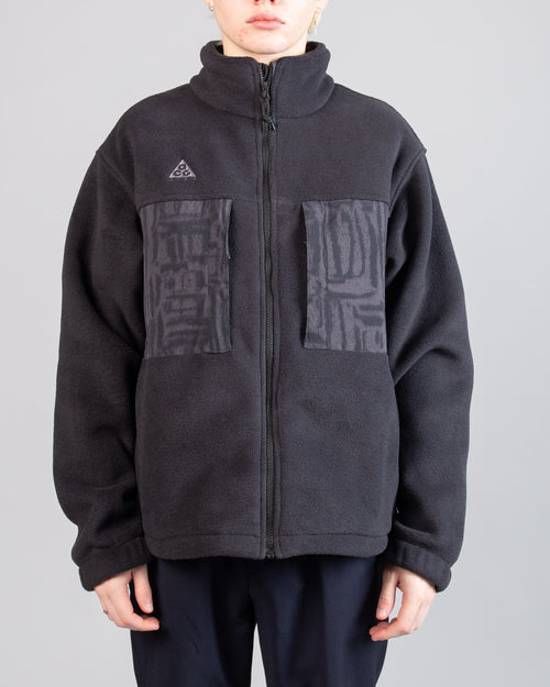 ACG Microfleece Jacket Black/Anthracite 1