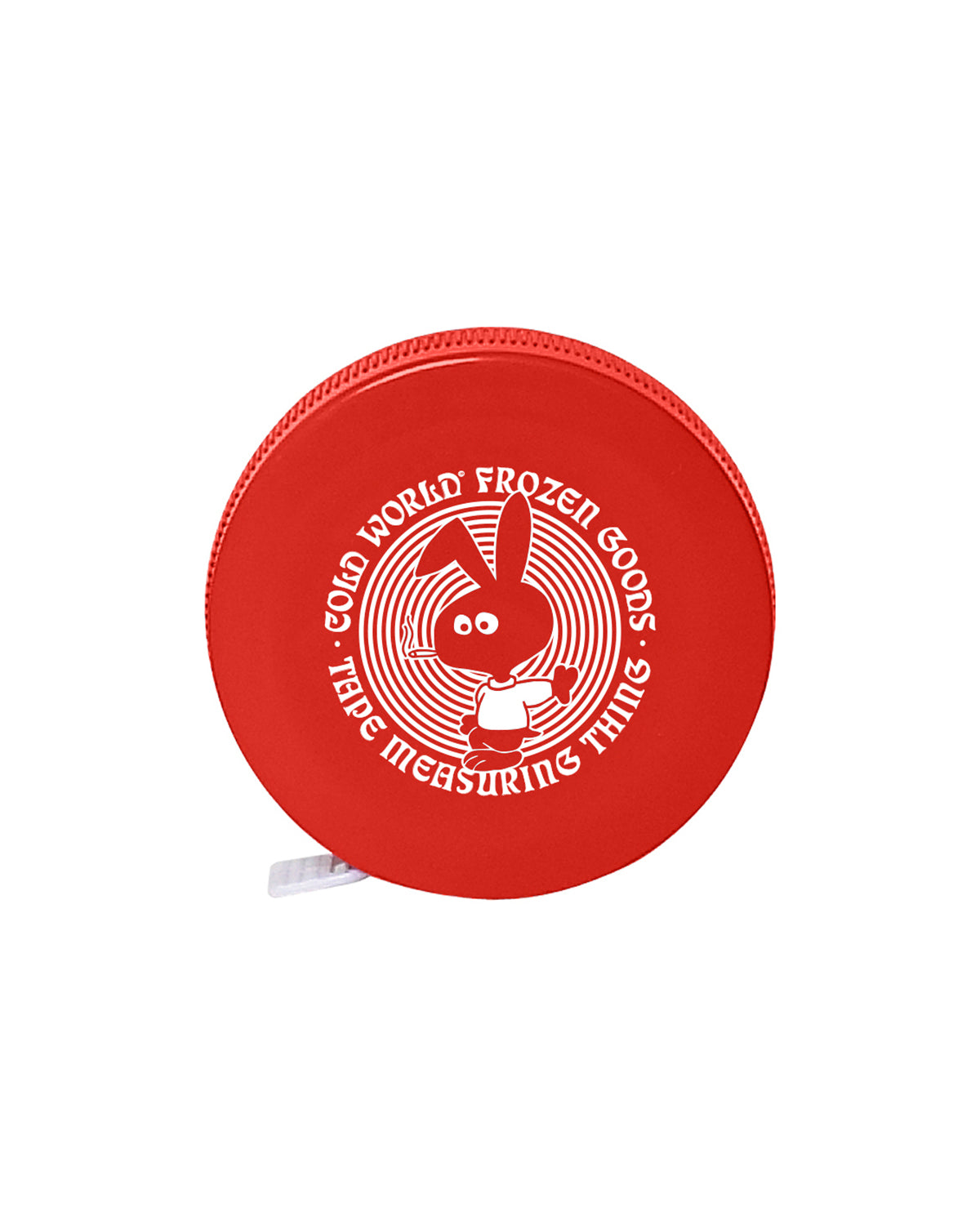 Cold Bunny Tape Measure Red