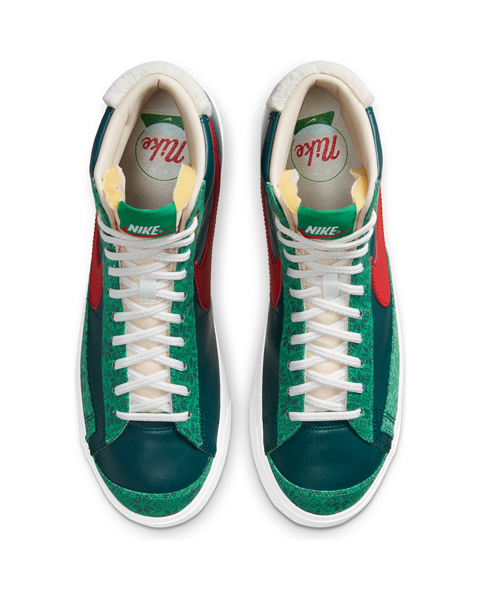 Blazer Mid '77 Vintage Atomic Teal/University Red