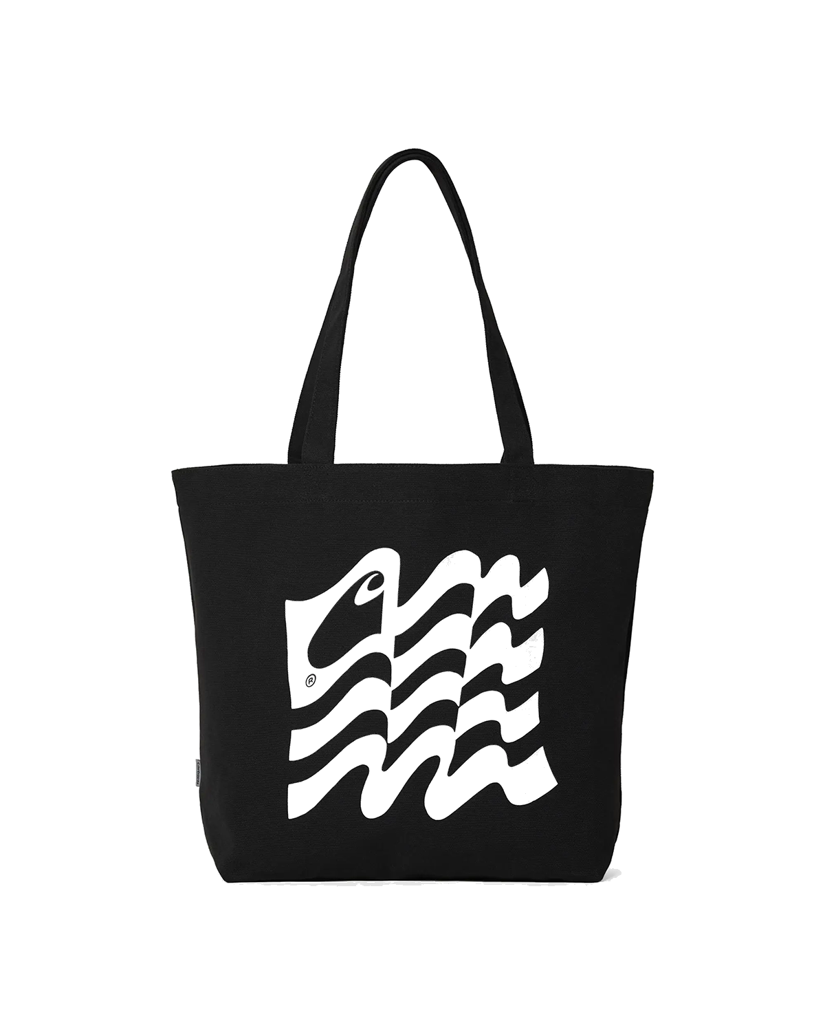 Wavy State Tote Black