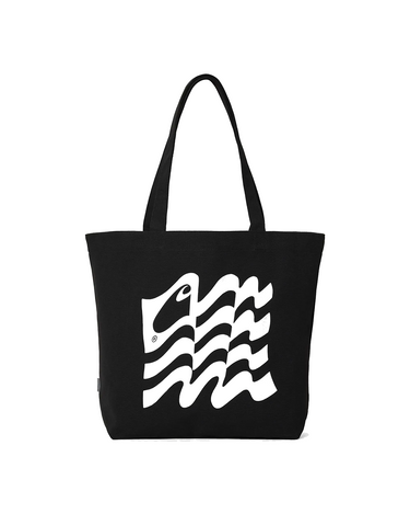 Wavy State Tote Black 1