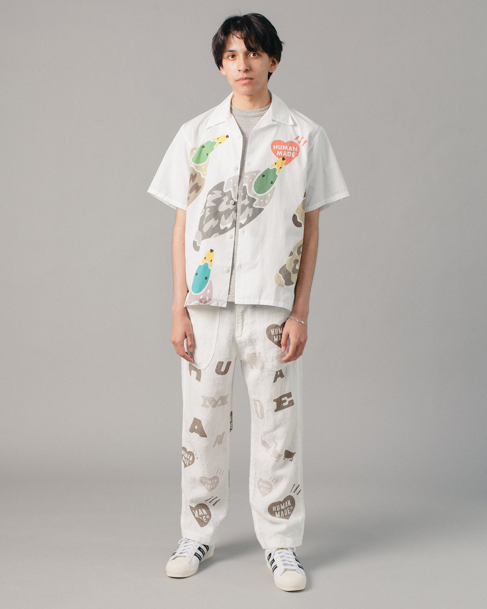 Deck Pants White