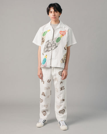 Deck Pants White 2