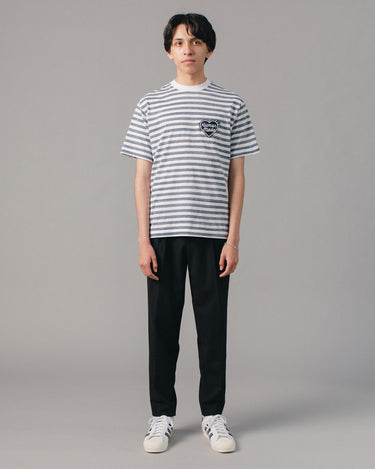 Border T-Shirt Navy 2