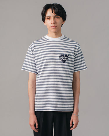 Border T-Shirt Navy 1