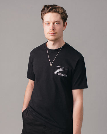 Cosmic Bar Tee Black 1