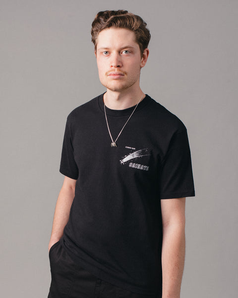 Cosmic Bar Tee Black