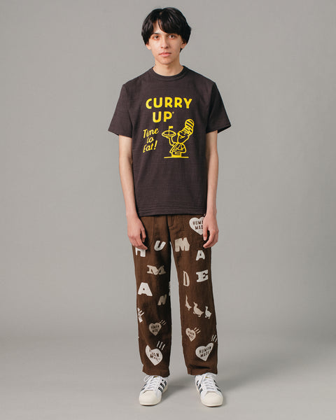 Curry Up T-Shirt #1908 Black