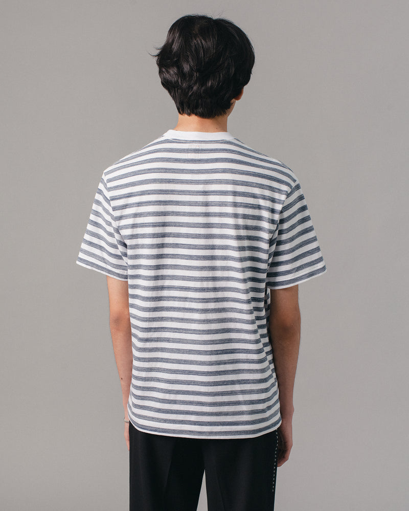 Border T-Shirt Navy