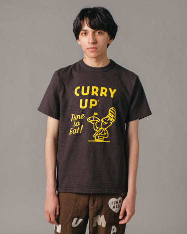 Curry Up T-Shirt #1908 Black 1