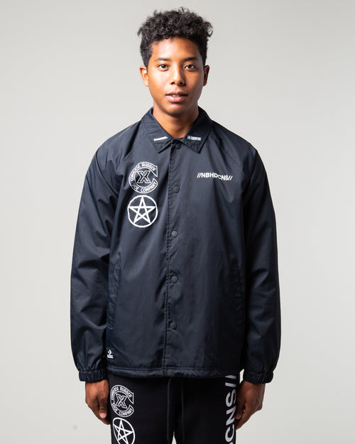 NEIGHBORHOOD Coaches Jacket Black 1