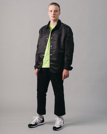 Schott Nylon Jacket Black 2