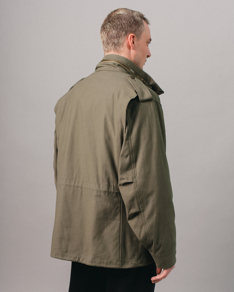 65 Satin Jacket Olive Drab