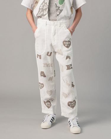 Deck Pants White 1