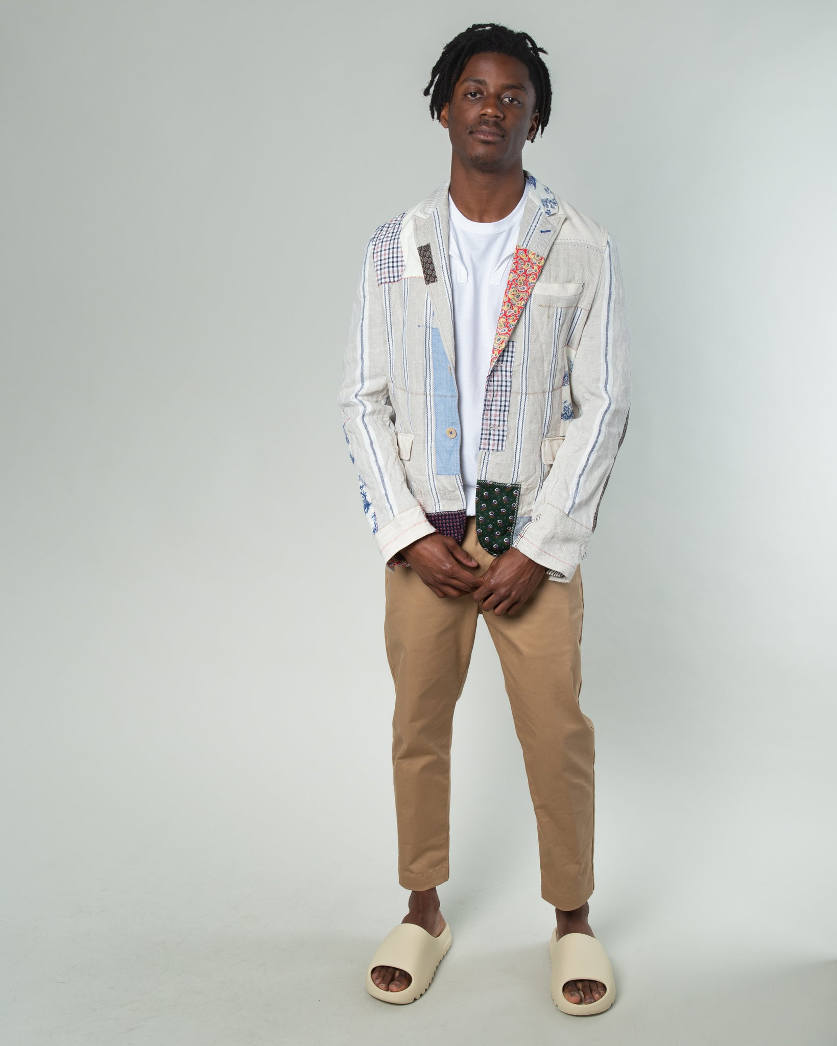 Paisley Patchwork Suit Jacket