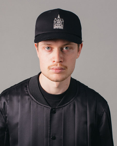 Hill Top Church Cap Black