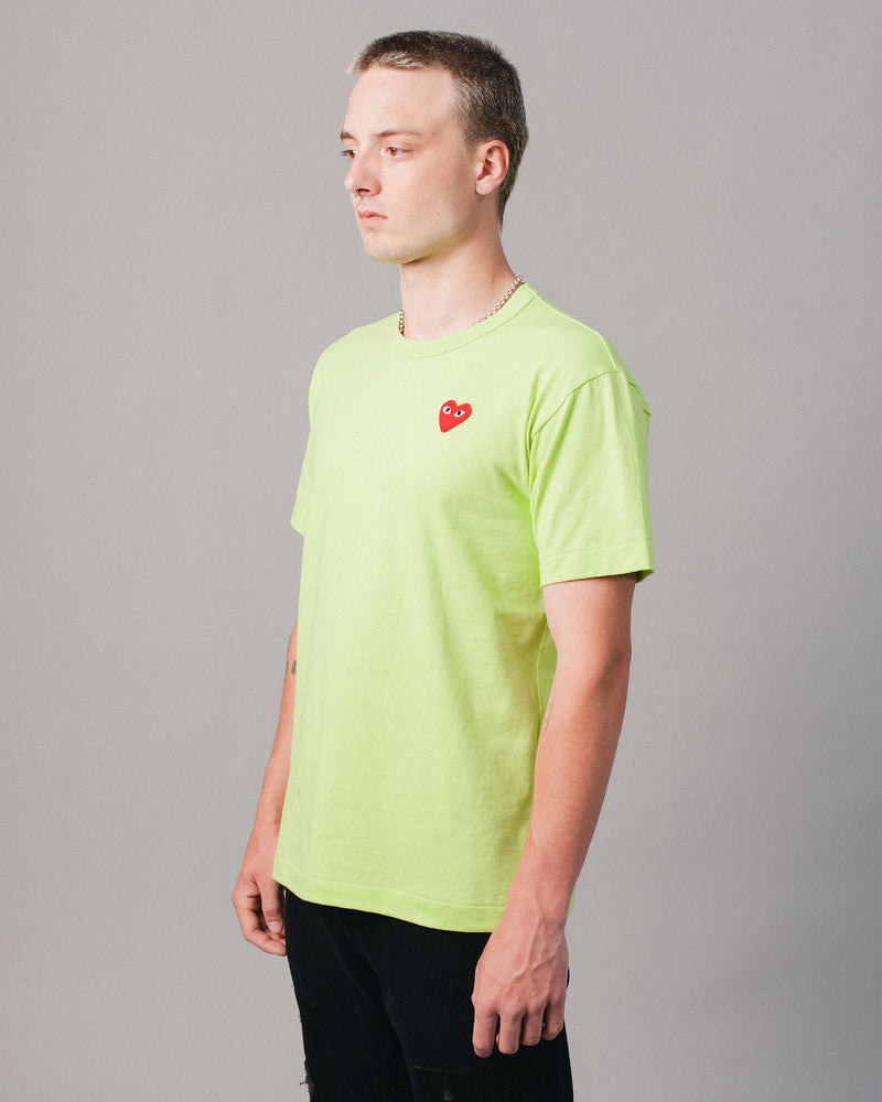 Heart T-Shirt Green