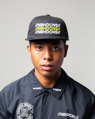 NEIGHBORHOOD 6-Panel Hat Black