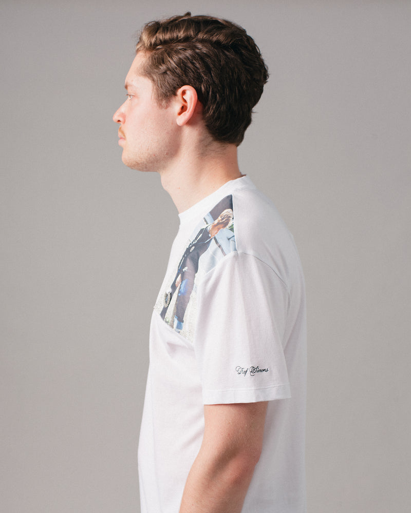 Raf Simons Print Patch T-Shirt White