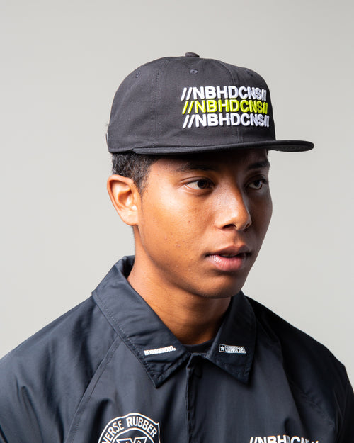 NEIGHBORHOOD 6-Panel Hat Black 2