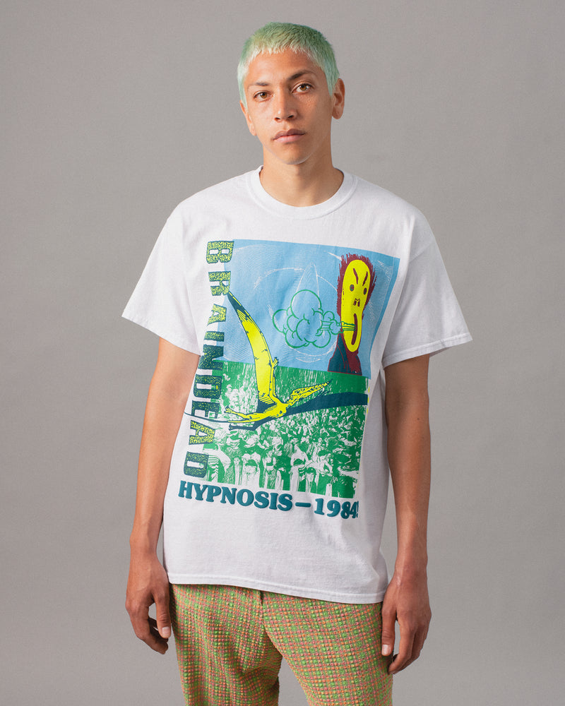 Hypnotize Short Sleeve Tee White