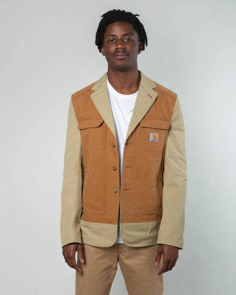 Carhartt Duck Canvas Jacket Khaki/Brown