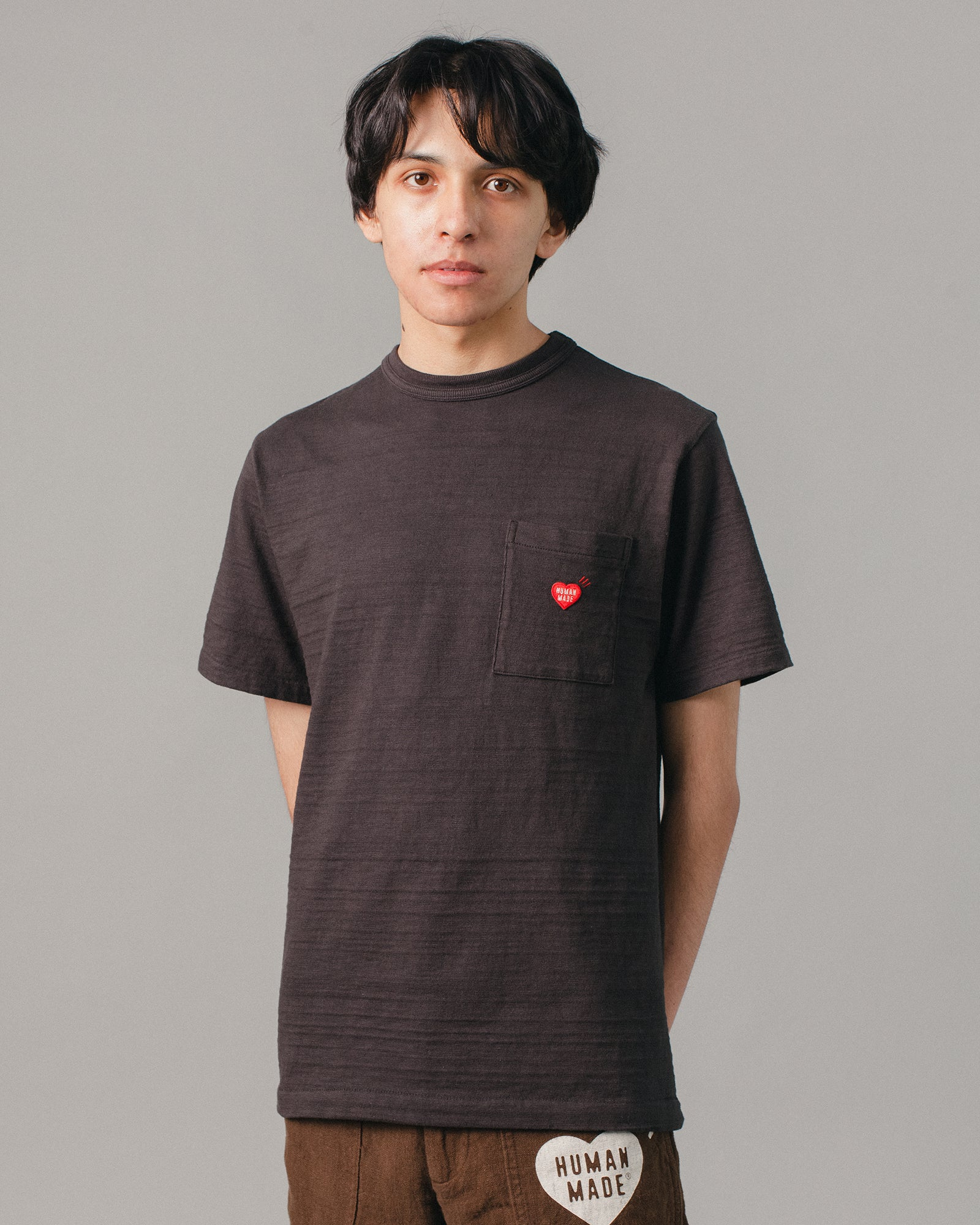 Polar Bear Pocket T-Shirt #1 Black