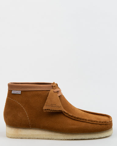 Carhartt WIP Wallabee Boot Brown Combi Suede