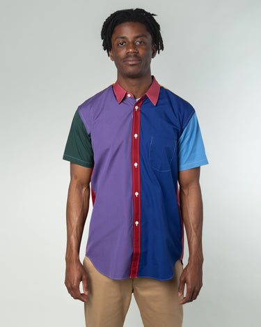 Color Block SS Shirt Multi 1