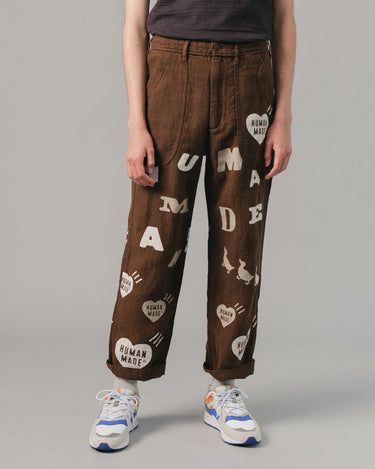 Deck Pants Brown 1