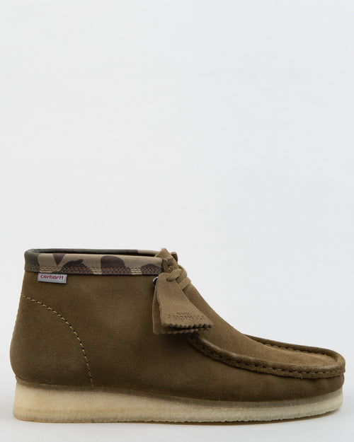 Carhartt WIP Wallabee Boot Olive Camouflage 1