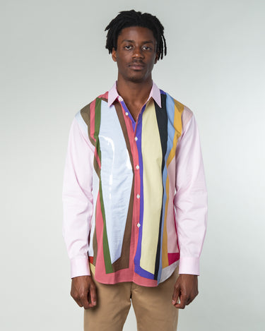 Color Stripe Shirt Multi 1