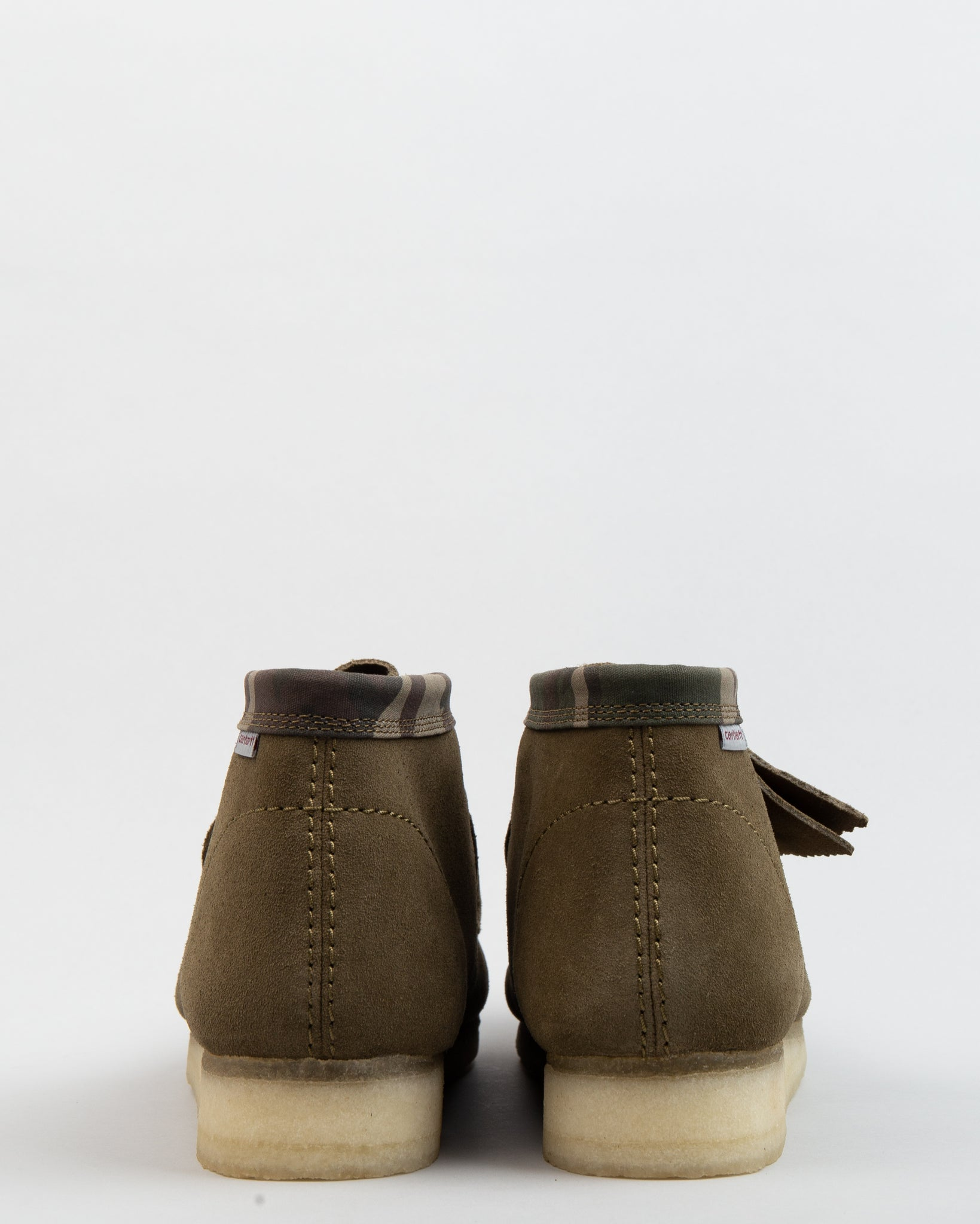 Carhartt WIP Wallabee Boot Olive Camouflage