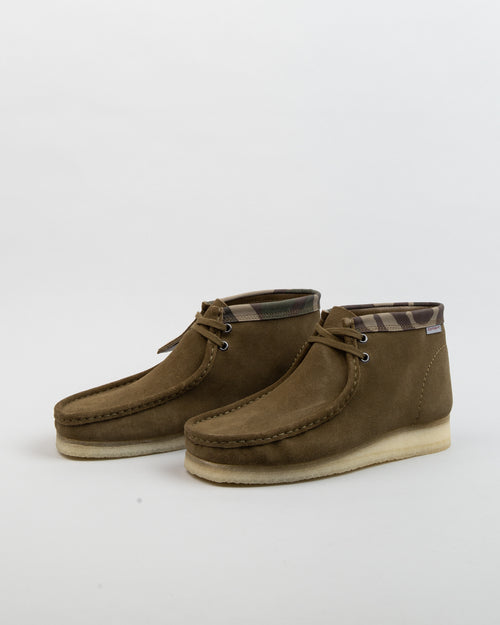 Carhartt WIP Wallabee Boot Olive Camouflage 2