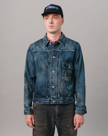Savage Stockman Type-A Jacket Indigo 1