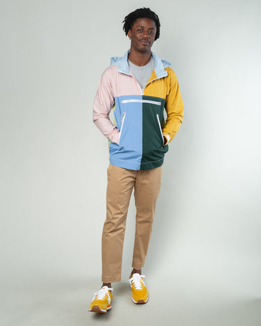 Color Block Half Zip Jacket Multi 2