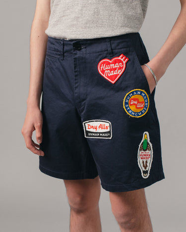 Military Wappen Chino Short Navy 1