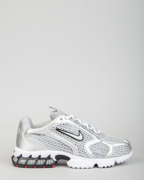 Air Zoom Spiridon Cage 2 Light Smoke Grey/Metallic Silver
